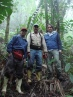 Montane Forests in the Andes - 2012. Victor Chama Moscoso, and the great Ignacio from San Eusebio in the picture